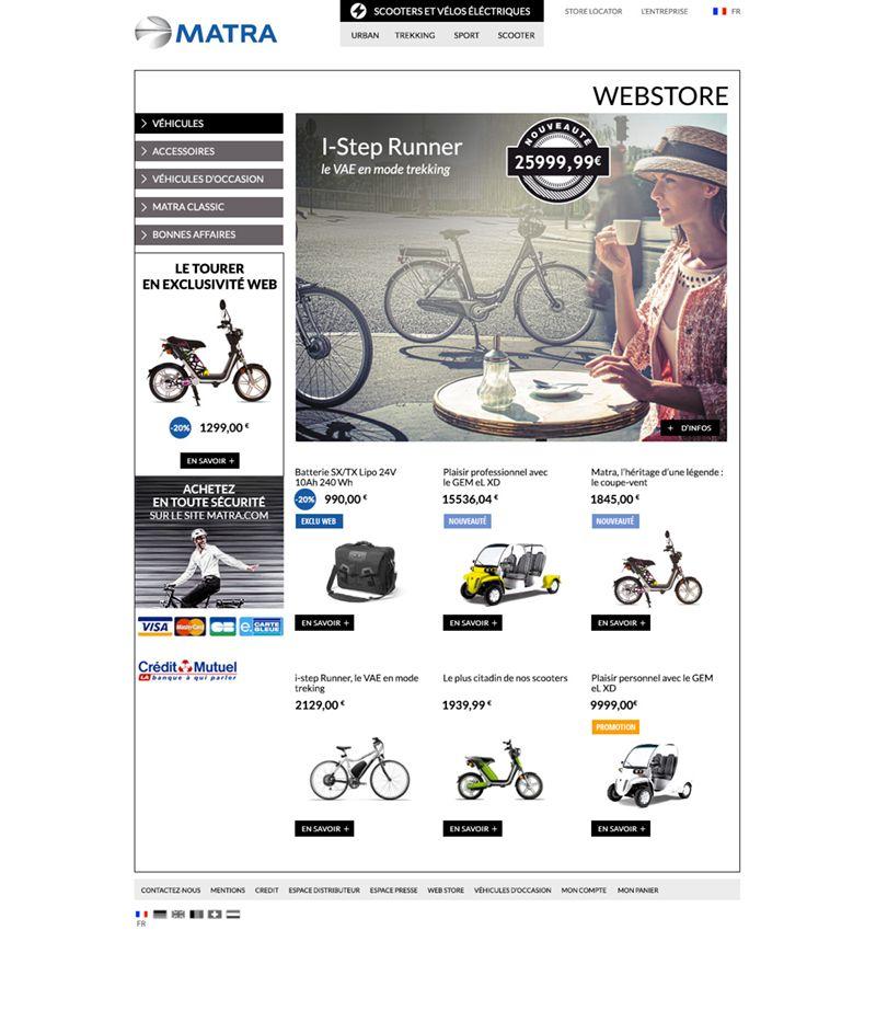 Matra webstore